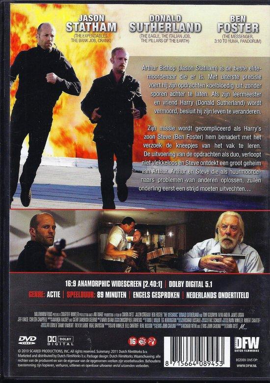 Cover van de film 'The Mechanic'