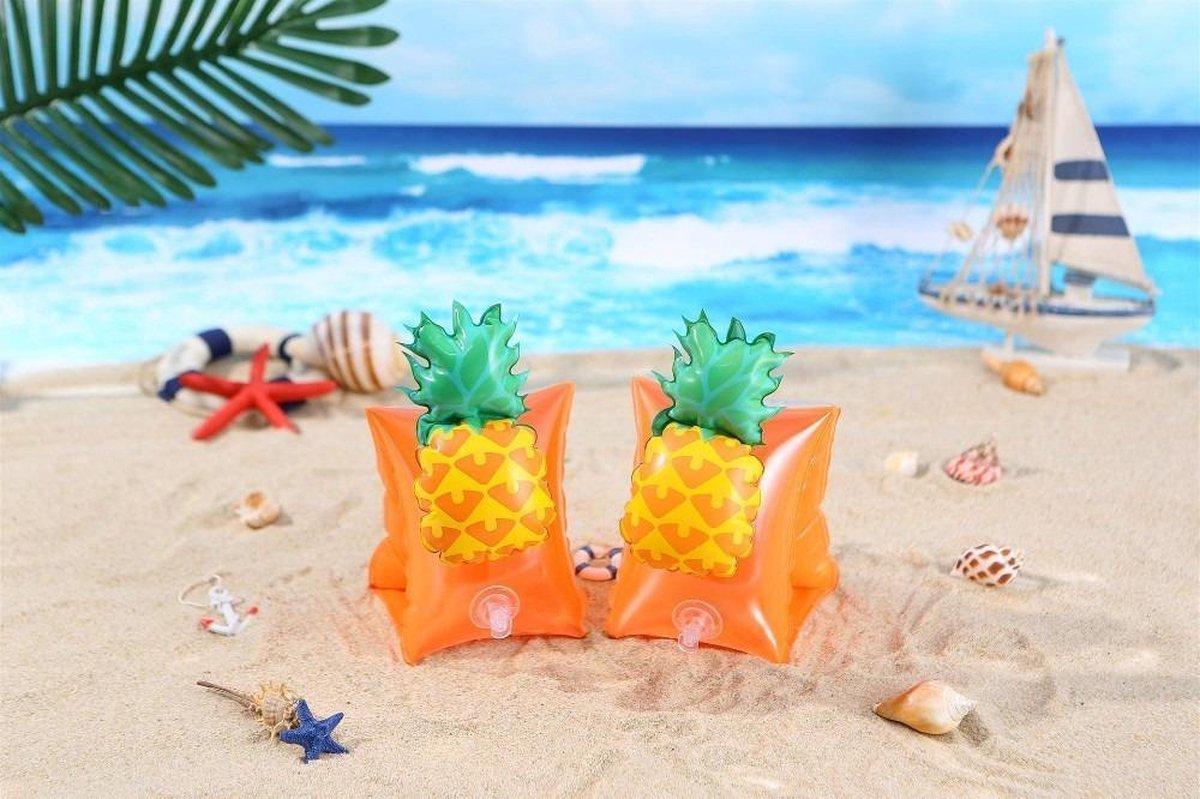 Nieuwste 3D Zwembandjes - Ananas - Baby - 1 Jaar - 2 Jaar - 3 Jaar - Jongens en Meisjes - Zwemvleugels