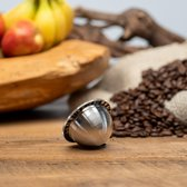 Herbruikbare - Hervulbare - Nespresso Vertuo Line koffie capsule - koffie cups - RVS