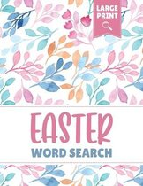 Easter Word Search Large Print