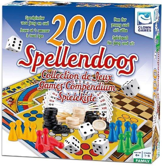 Afbeelding van het spel Clown Games Spellendoos 200dlg NL/FR/DU/EN