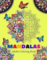 Mandalas Adults Coloring Book