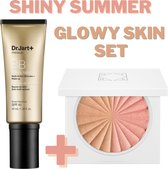 Summer Skin Set: Premium BB Cream Medium Dr.Jart SPF 45 PA+++ & Ofra Cosmetics Ride or Die Blushzer Unit - Zonnebrand met Bruine Egale Teint - Anti Wrinkle - Dermatologisch Getest - Safety Formula - Highlighter Bronzer Blusher - Zomerse Gloed