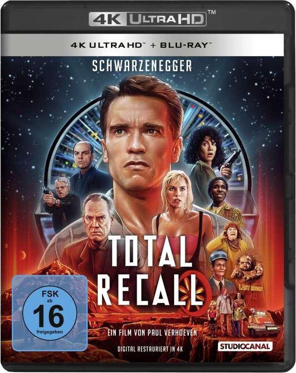 Total Recall (1990) (Ultra HD Blu-ray & Blu-ray)-