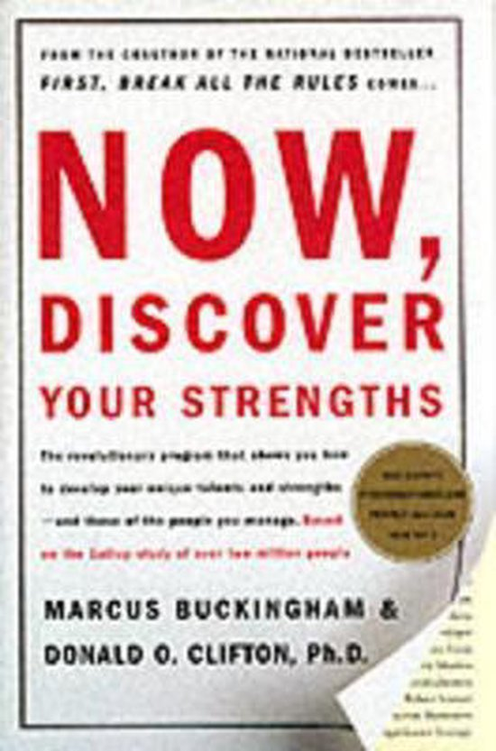 Boek cover Now, Discover Your Strengths van Gallup (Hardcover)