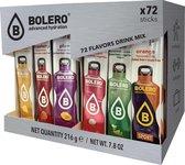 Bolero mix-pakket 72 smaken