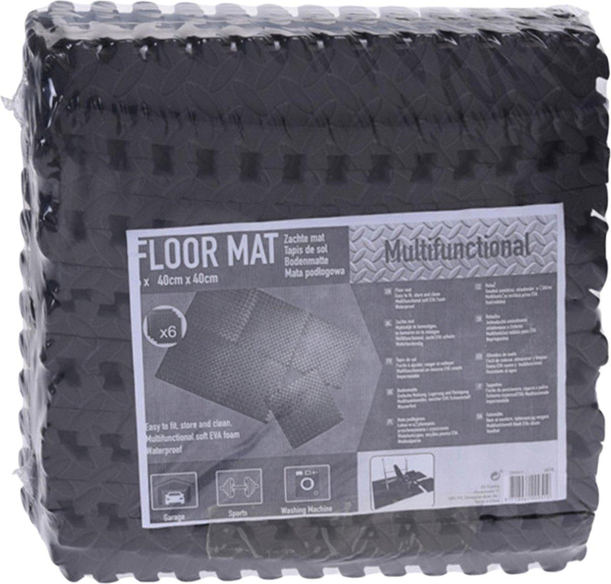 Zwembadtegels - Voordeelverpakking - 1 verpakking van 6 tegels - 40x40 cm