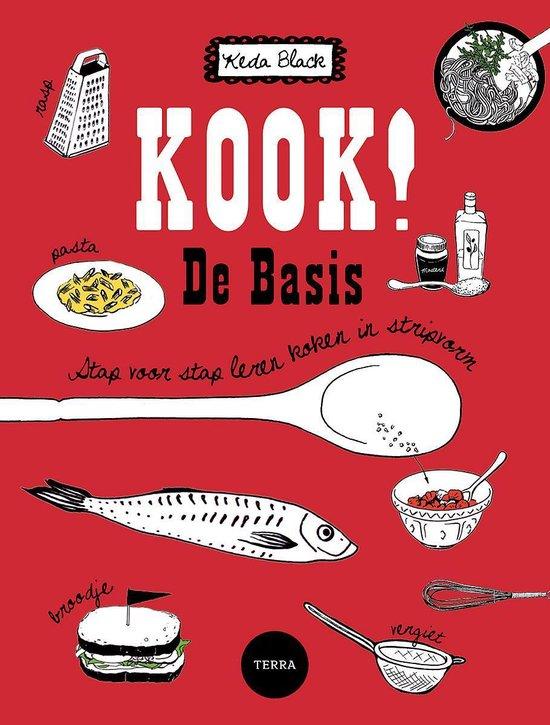 Boek cover Kook ! De basis van Keda Black
