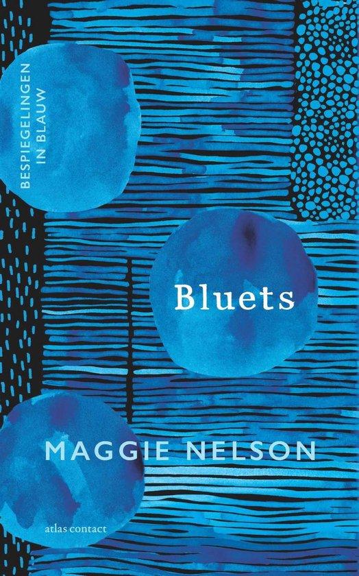 Boek cover Bluets van Maggie Nelson (Onbekend)