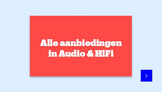Alle aanbiedingen in Audio & Hifi