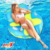 Float Pool Lounge met bekerhouder - float lounge - float lounge - opblaasbare Zwembadstoel - Lounge Pool - opblaasbare Zwembadstoel - Drijfstoel Drijvende WaterStoel LoungeStoel  Zwembad Ligbed Luchtbed Floating Bed - Beach Float - Float LoungeStoel