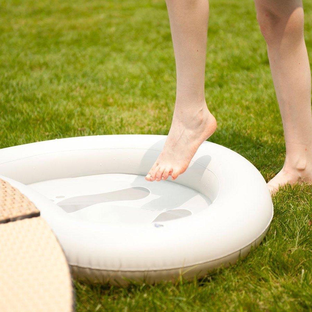 Voetenbad voor uw opblaasbaar bubbelbad mspa