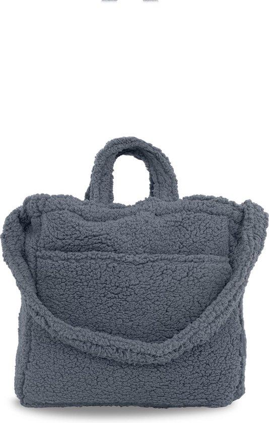Product: Jollein Teddy Verzorgingstas storm grey, van het merk Jollein