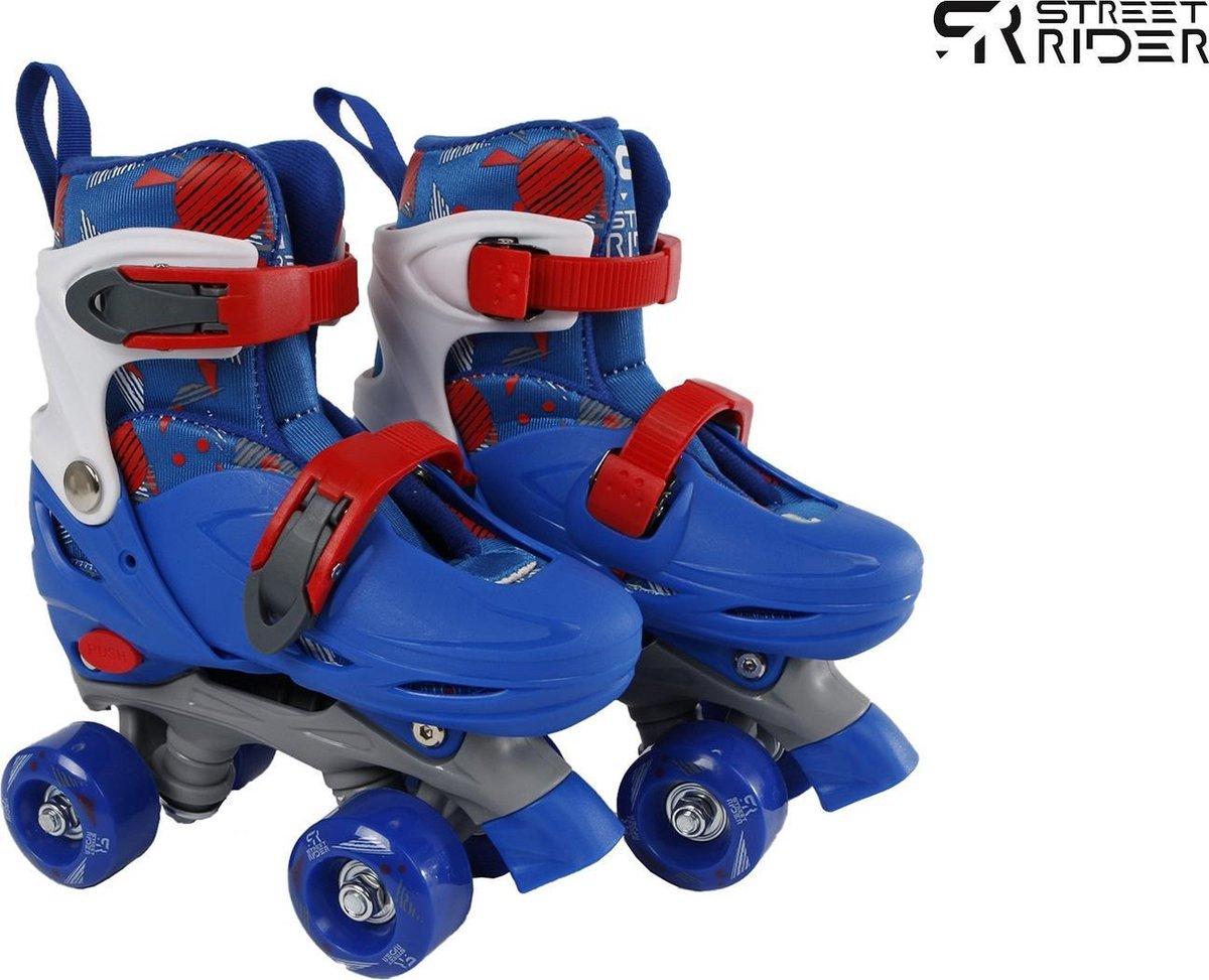 Street Rider Rolschaatsen Verstelbaar Jongens Blauw Maat 31/34