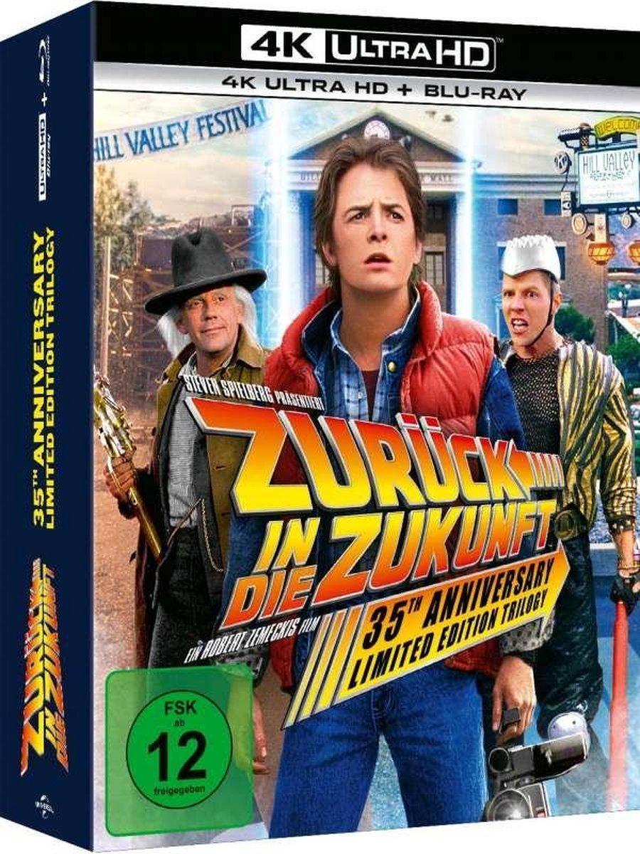 Back To The Future I-III (1984-1989) (Ultra HD Blu-ray & Blu-ray)-