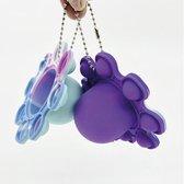 Pop it mood octopus | fidget toys | blauw roze