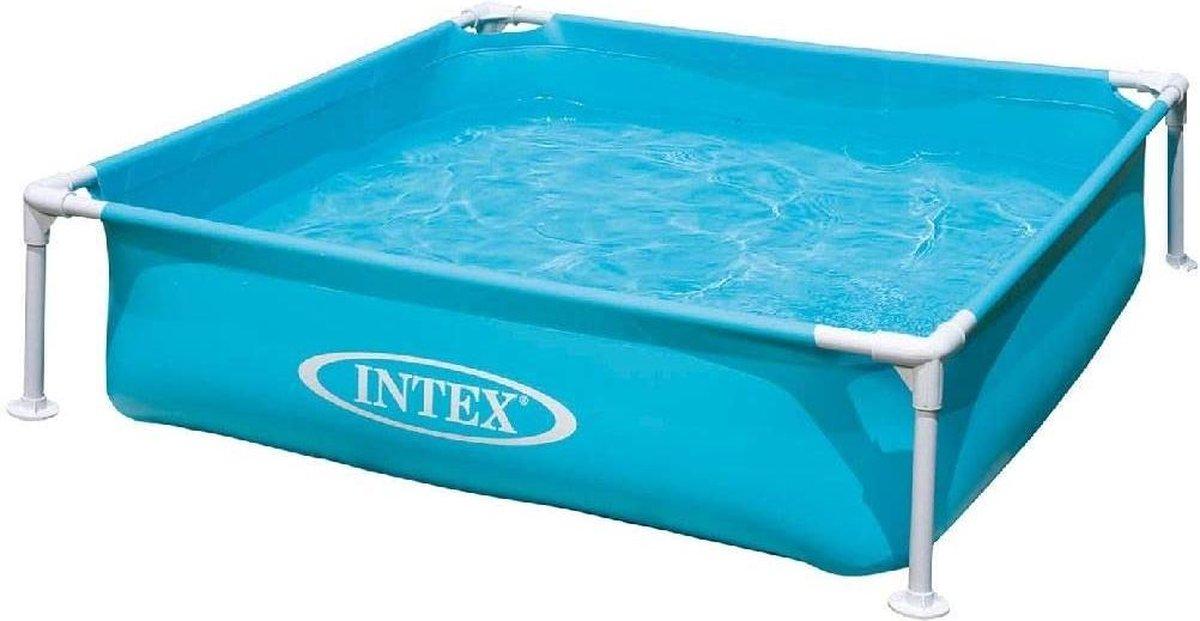 Intex Mini Frame Pool | Zwembad 122 x 122 x 30 cm