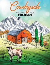 Countryside Coloring Book for Adults