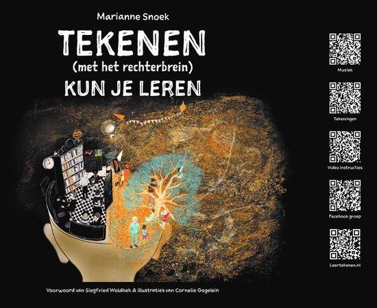 Boek cover Tekenen (met het rechterbrein) kun je leren van Marianne Snoek (Onbekend)