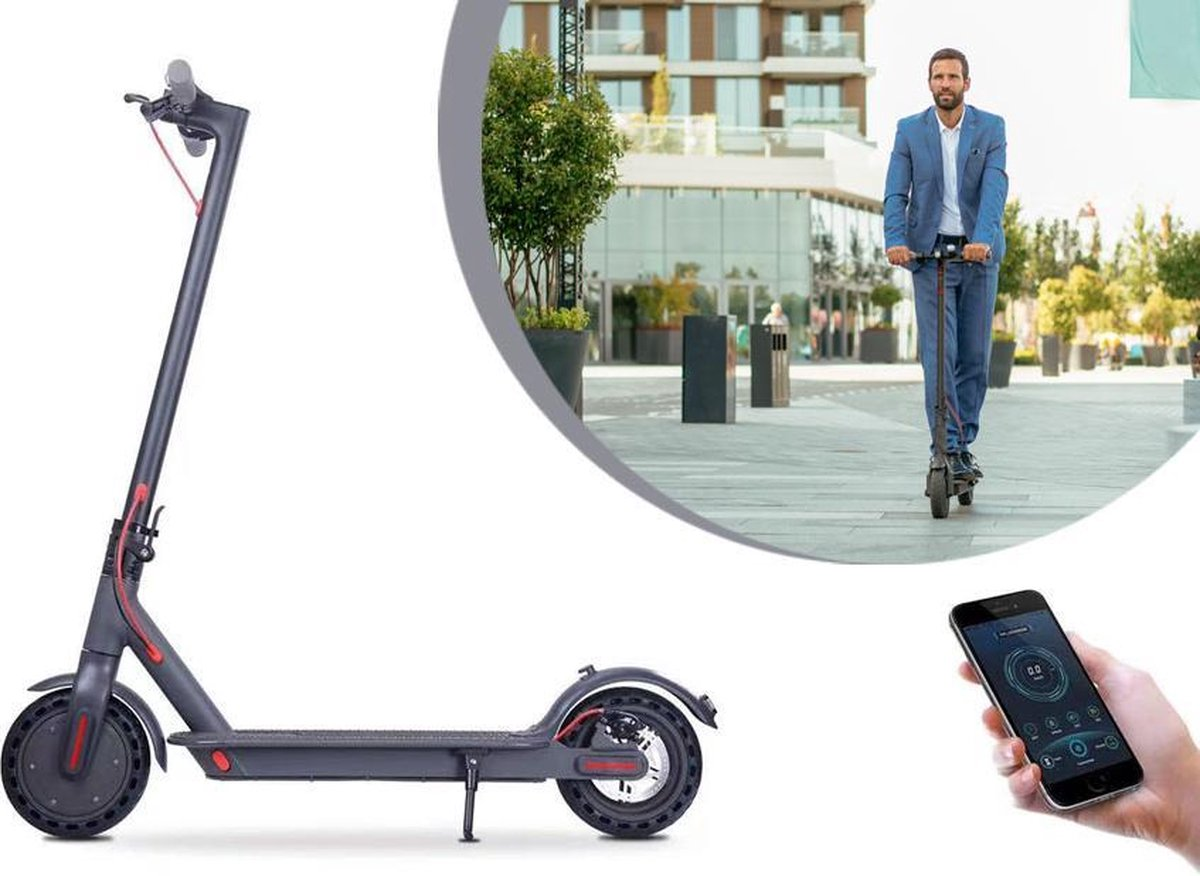 Arrow opvouwbare elektrische step -E-scooter - Volwassen - Max snelheid 25 Km/u- bereik 25km - inkla