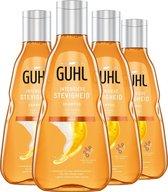 4x Guhl Shampoo Intensieve Stevigheid 250 ml