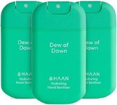 HAAN - Handzeep - Desinfecterend - 3-Pack Dew Of Dawn Spray 30ml - Navulbaar