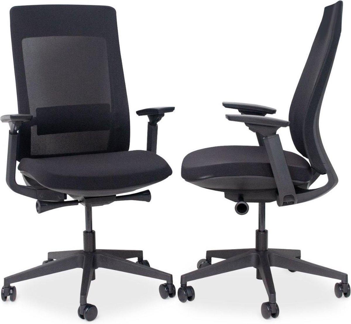 MRC PRO Design | Ergonomische bureaustoel | Harde wielen