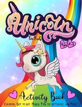 Unicorn Activity Book for Kids Ages 4-8