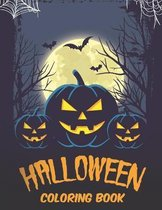 Halloween Coloring Book: Children Coloring Book for Kids