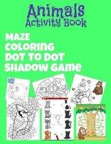 Animals Activity Book