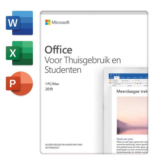 Microsoft Office 2019 Home & Student - Eenmalige aankoop (download)