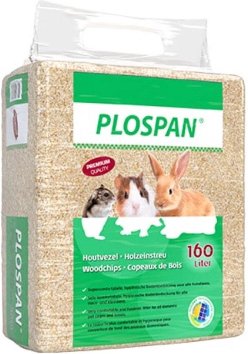 Plospan Classic Houtvezel - Bodembedekking - 160 L