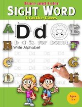 Trace-and-Color Sight Word Practice Pages: A Magical Sight Words and Coloring Activity Workbook for Beginning Readers Ages 3+