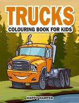 Trucks Colouring Book