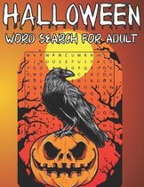 Halloween Word Search For Adult