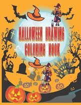 Halloween Drawing Coloring Book