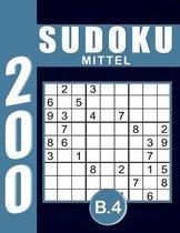 Sudoku Erwachsene Mittel Band 4