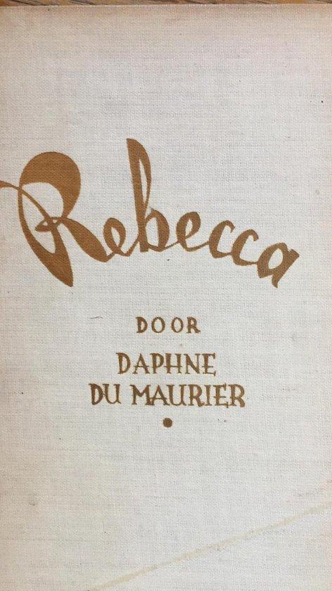 Boek cover Rebecca van Daphne Du Maurier (Hardcover)