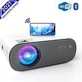 Nince Beamer C10 2021 Model - Input tot Full HD - 7000 Lumen - Streamen Vanaf Je Telefoon Met WiFi - Mini Projector - Mini Beamer