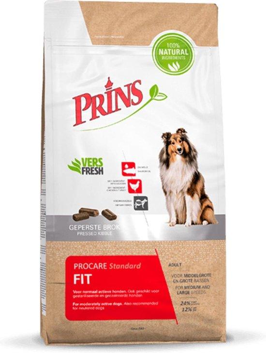 Prins ProCare Standaard Fit 15 kg. - Hond