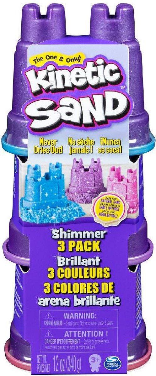 Kinetic Sand Shimmers Multi Pack 3x113gr