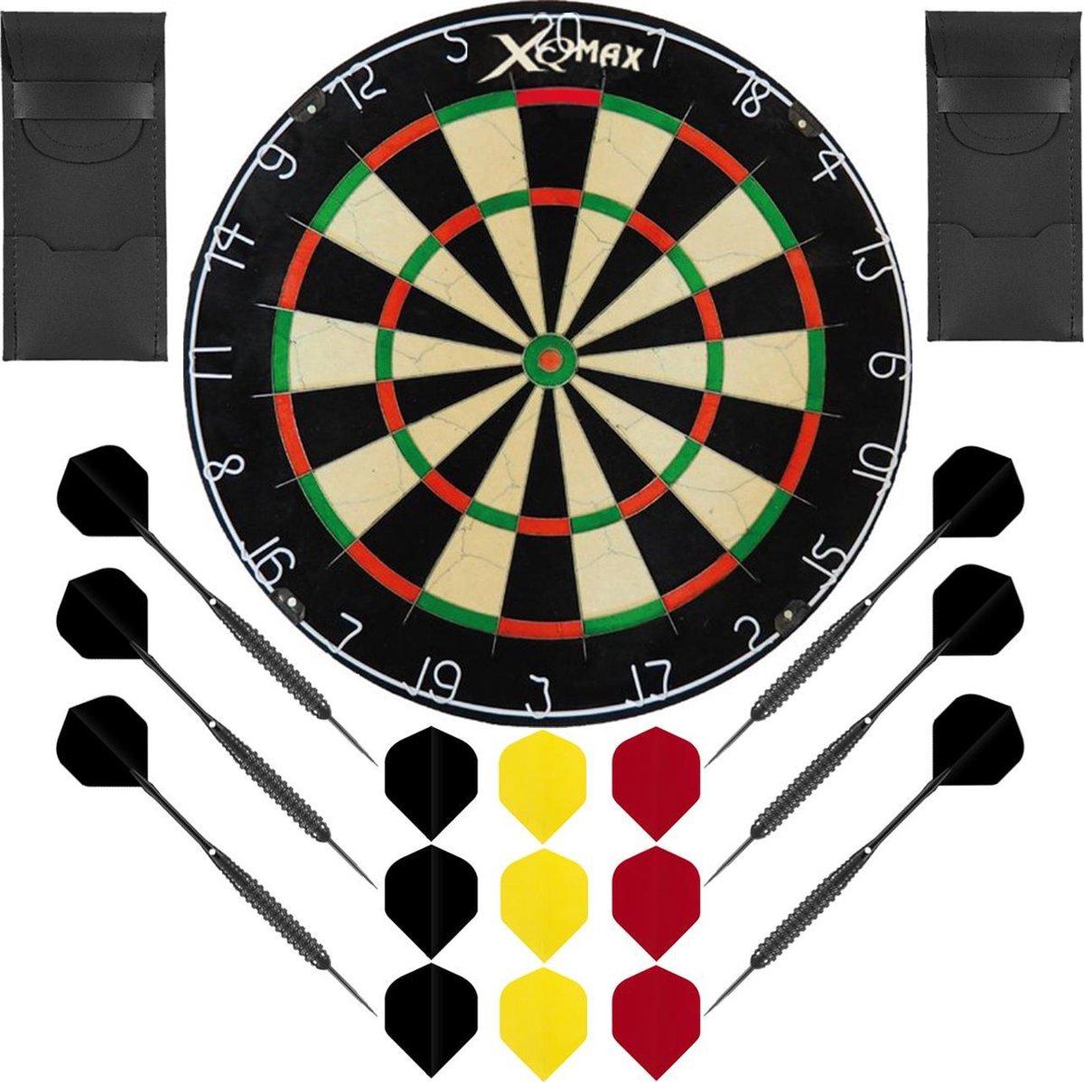 Dragon Darts Belgian Dreammaker set - dartbord - 2 sets - dartpijlen - dart shafts - dart flights - Plain XQ Max dartbord