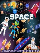 Space Coloring and Activity Book for Kids: Features