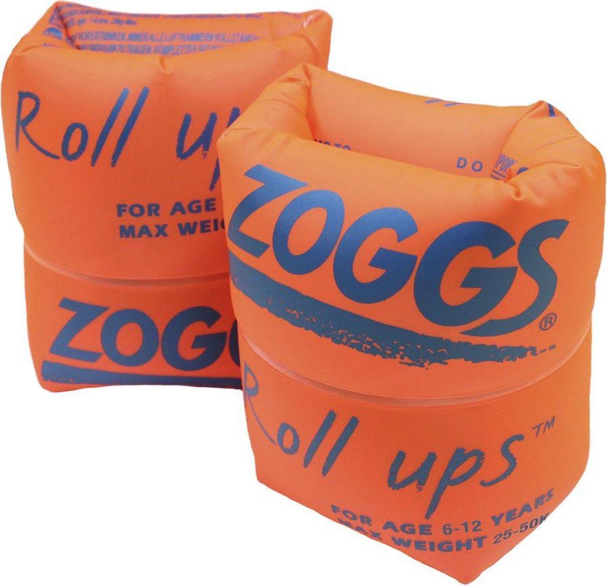 Zoggs - Zwembandjes Roll-Ups - Oranje - Maximum 50 kg - Maat 6/12 jaar