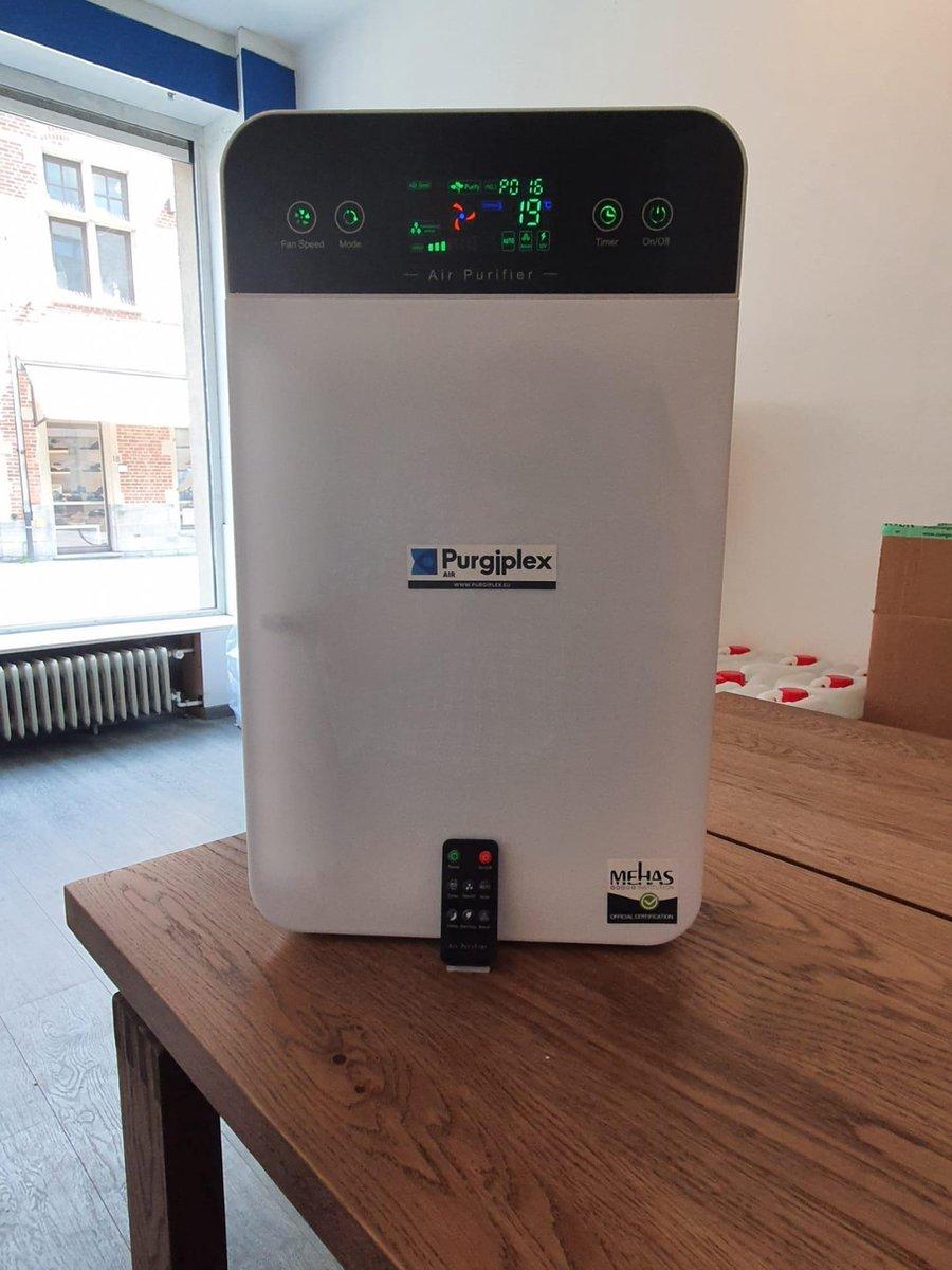 Purgiplex Luchtreiniger – Ionisator – Hepafilter – Koolstoffilter – 50 kub – Led – PM2.5 sensor