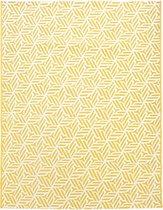 Alice's Garden Buitentapijt - binnen/buiten - Polypropyleen - 160x230 - Geel/Wit