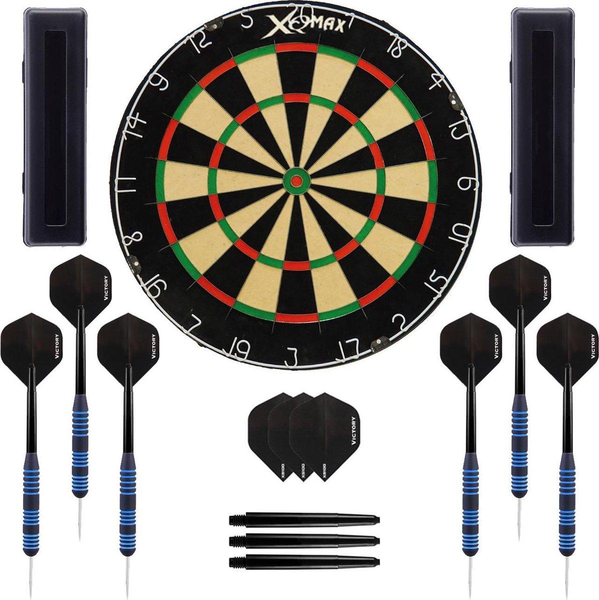 Dragon Darts Impact set - dartbord - 2 sets - dartpijlen - dart shafts - dart flights - Plain Dragon XQ dartbord