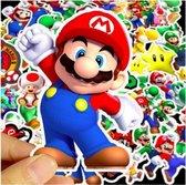 Super Mario Stickers - 500 stuks - Super Mario - Mario party - Mario stickers - Super Mario stickers - Super Mario party - Stickers volwassenen - Stickers kinderen - Laptop stickers