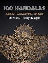 100 Mandalas Adults Coloring Book