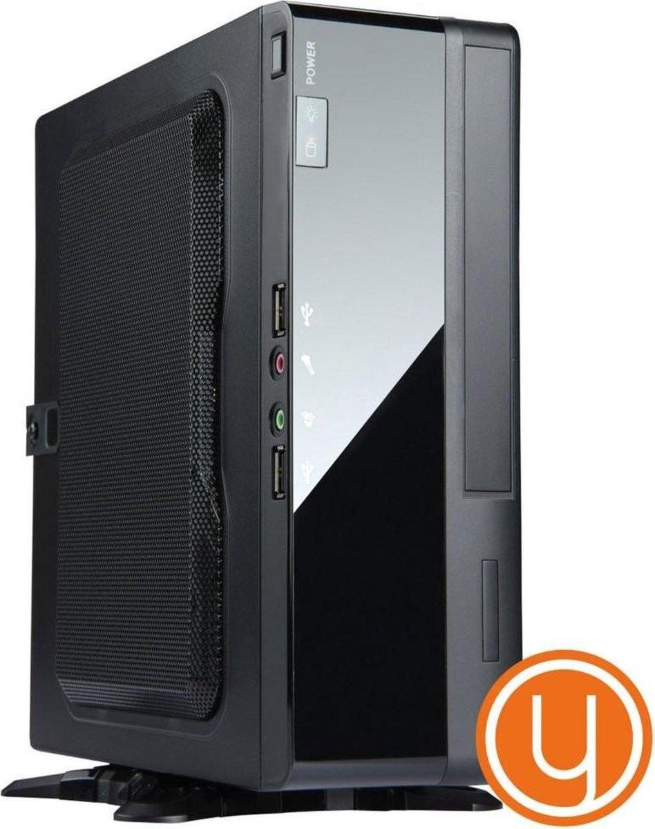 Yours Orange ITX PC, Celeron 4900 3.9GHz, 4GB DDR4, 240GB SSD, Windows 10 Home